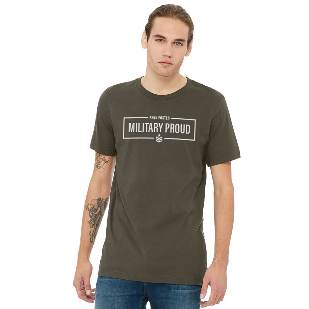 PENN FOSTER MILITARY APPRECIATION T-SHIRT