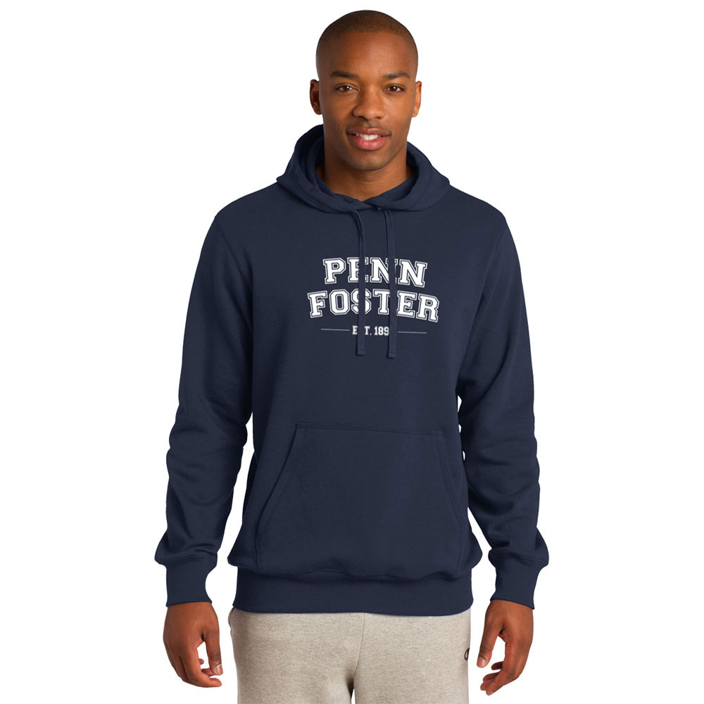 PULLOVER HOODED SWEATSHIRT NAVY