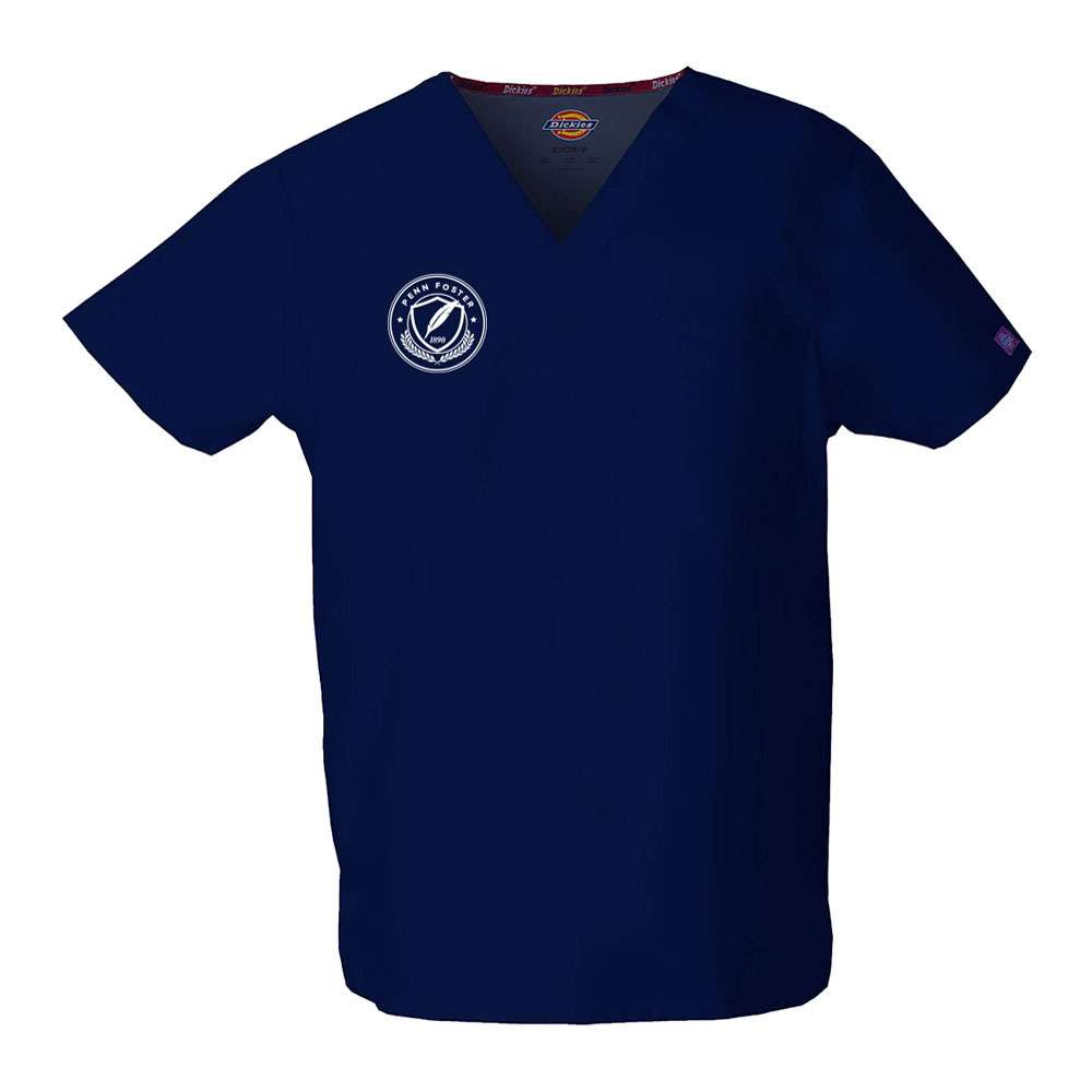 SCRUB TOP NAVY